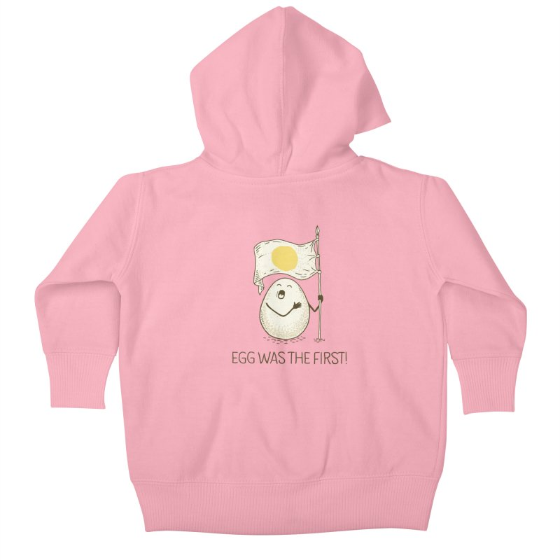 anthem of eggs  Kids Baby Zip-Up Hoody by gotoup's Artist Shop