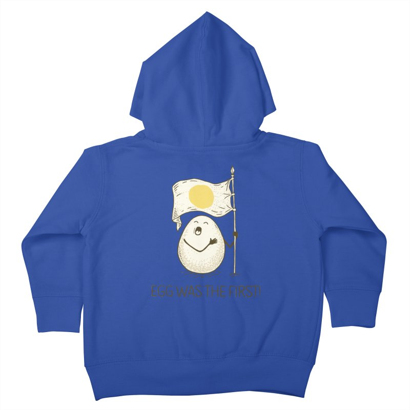 anthem of eggs  Kids Toddler Zip-Up Hoody by gotoup's Artist Shop