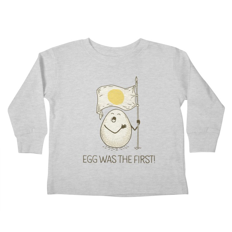 anthem of eggs  Kids Toddler Longsleeve T-Shirt by gotoup's Artist Shop