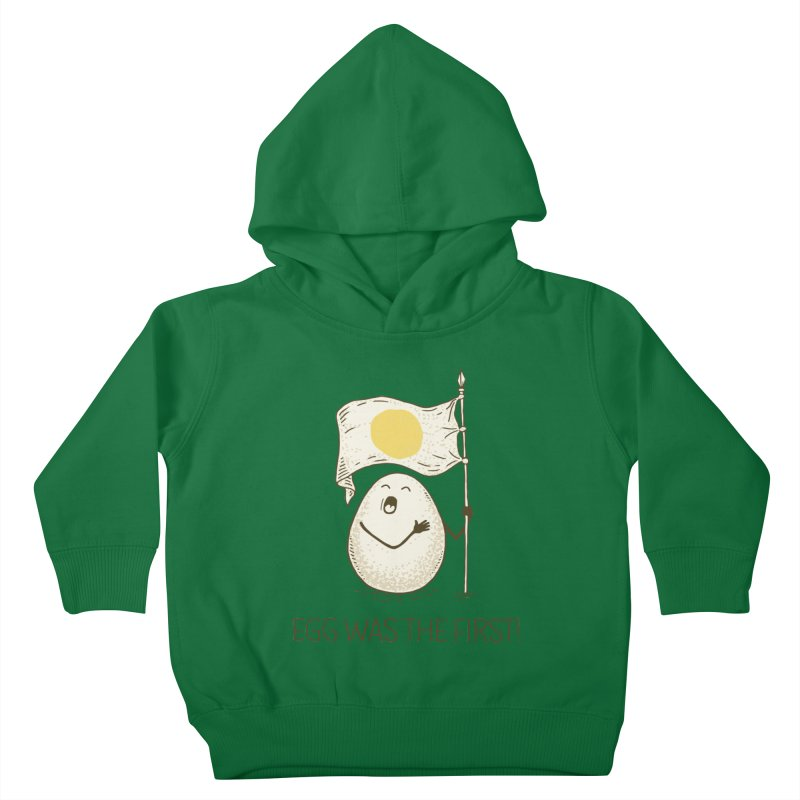 anthem of eggs  Kids Toddler Pullover Hoody by gotoup's Artist Shop