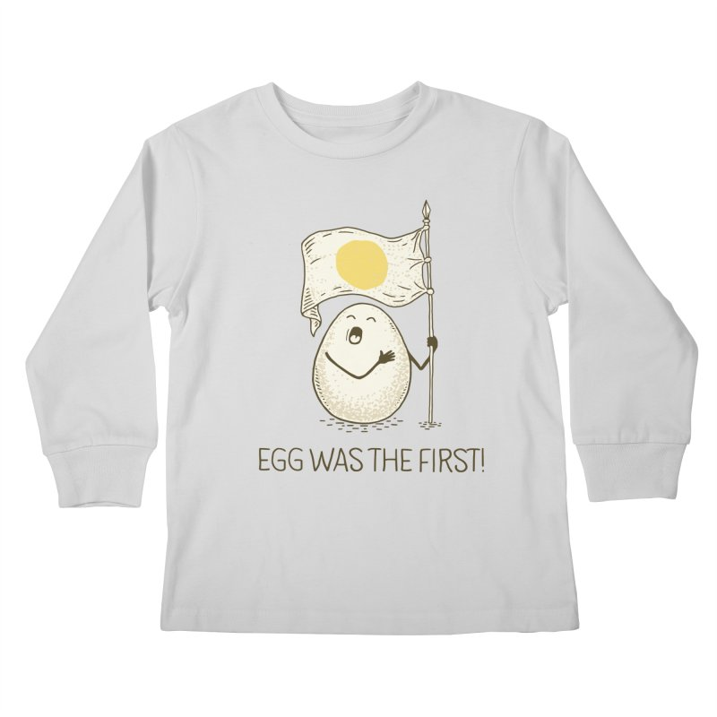 anthem of eggs  Kids Longsleeve T-Shirt by gotoup's Artist Shop