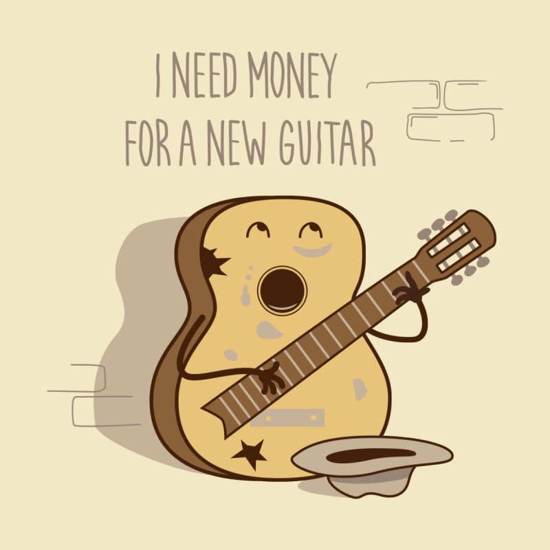 new guitar None  by gotoup's Artist Shop