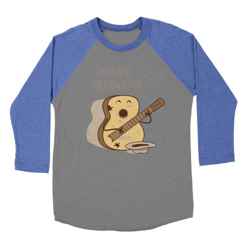 new guitar Men's Baseball Triblend T-Shirt by gotoup's Artist Shop