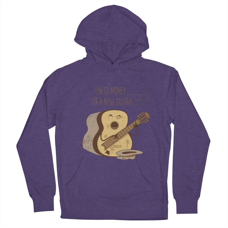 new guitar Men's Pullover Hoody by gotoup's Artist Shop