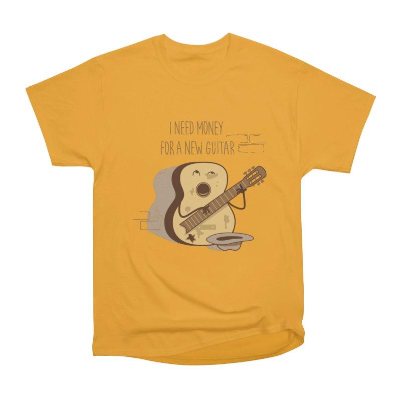 new guitar Men's Heavyweight T-Shirt by gotoup's Artist Shop