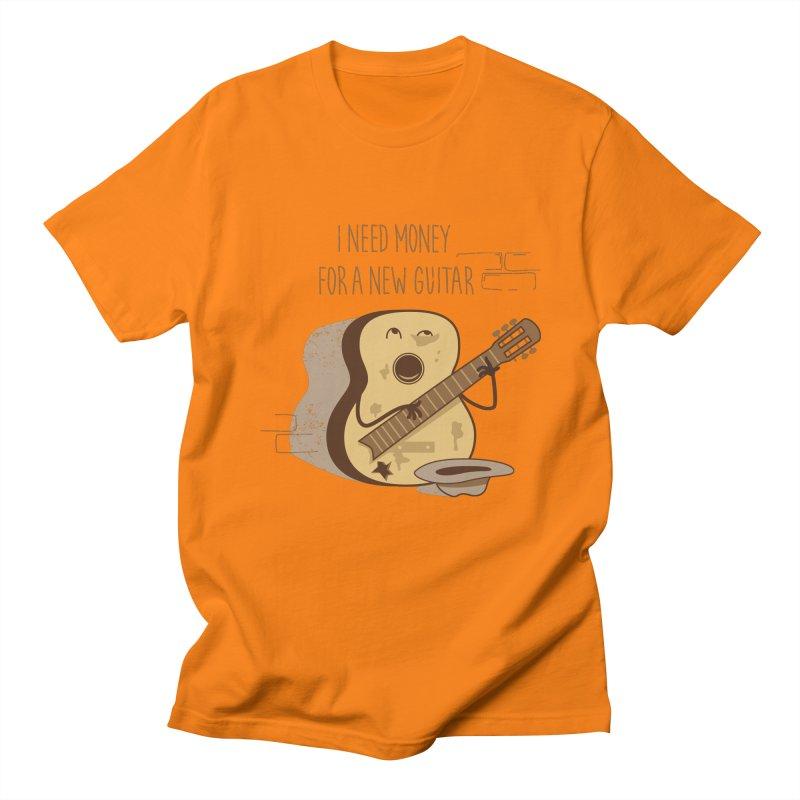 new guitar Men's T-Shirt by gotoup's Artist Shop
