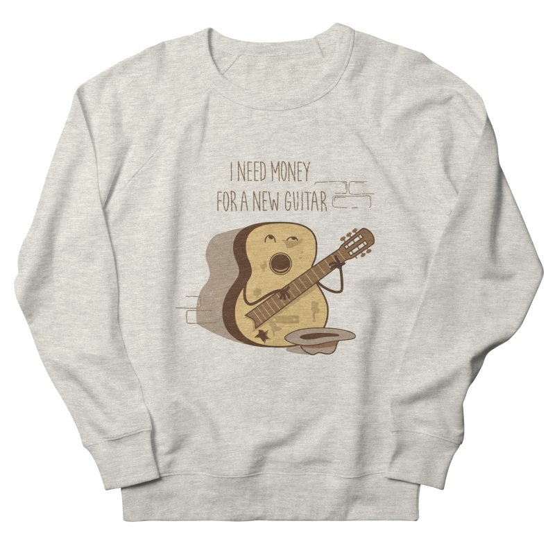 new guitar Women's French Terry Sweatshirt by gotoup's Artist Shop