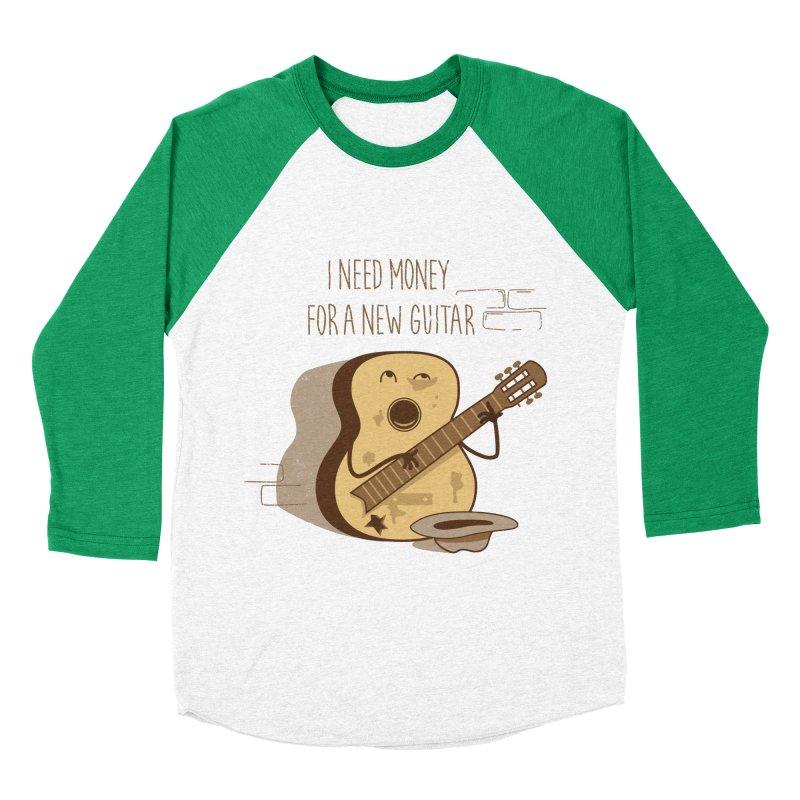 new guitar Women's Baseball Triblend Longsleeve T-Shirt by gotoup's Artist Shop