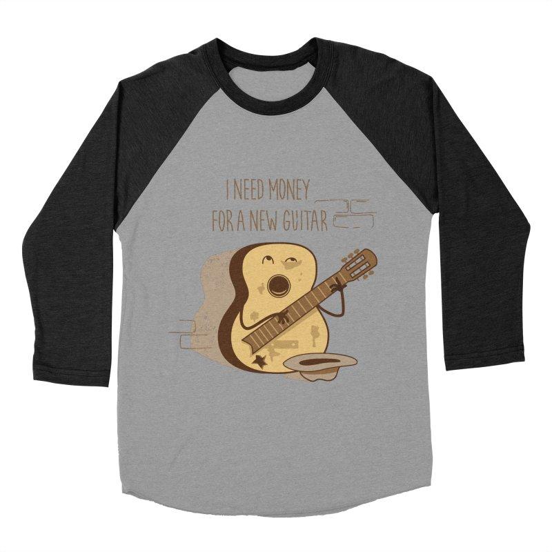 new guitar Women's Baseball Triblend T-Shirt by gotoup's Artist Shop
