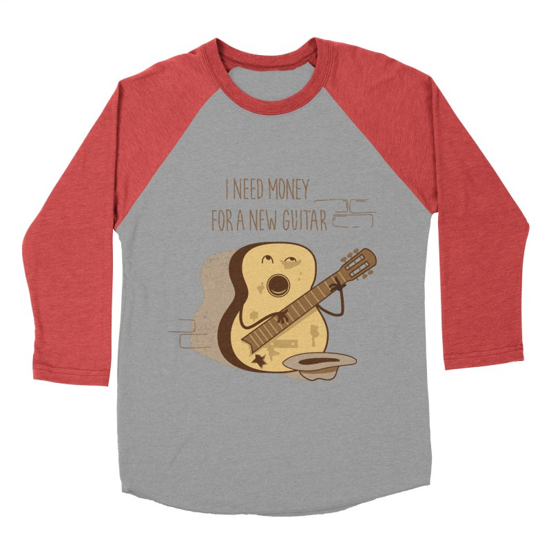 new guitar Men's Baseball Triblend T-Shirt by gotoup's Artist Shop