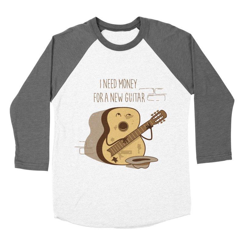 new guitar Men's Baseball Triblend Longsleeve T-Shirt by gotoup's Artist Shop