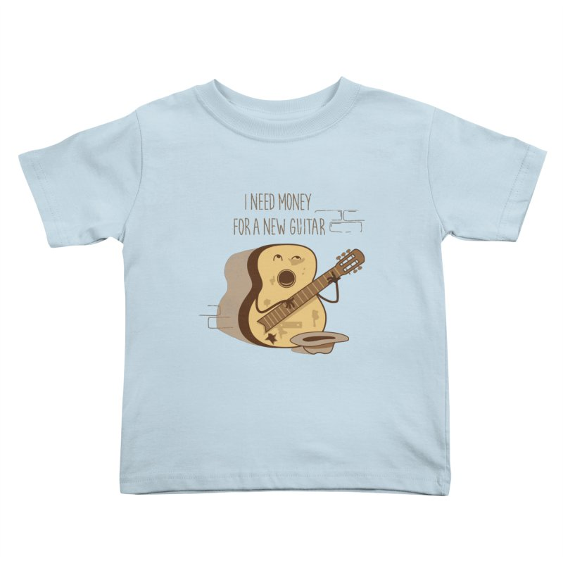 new guitar Kids Toddler T-Shirt by gotoup's Artist Shop