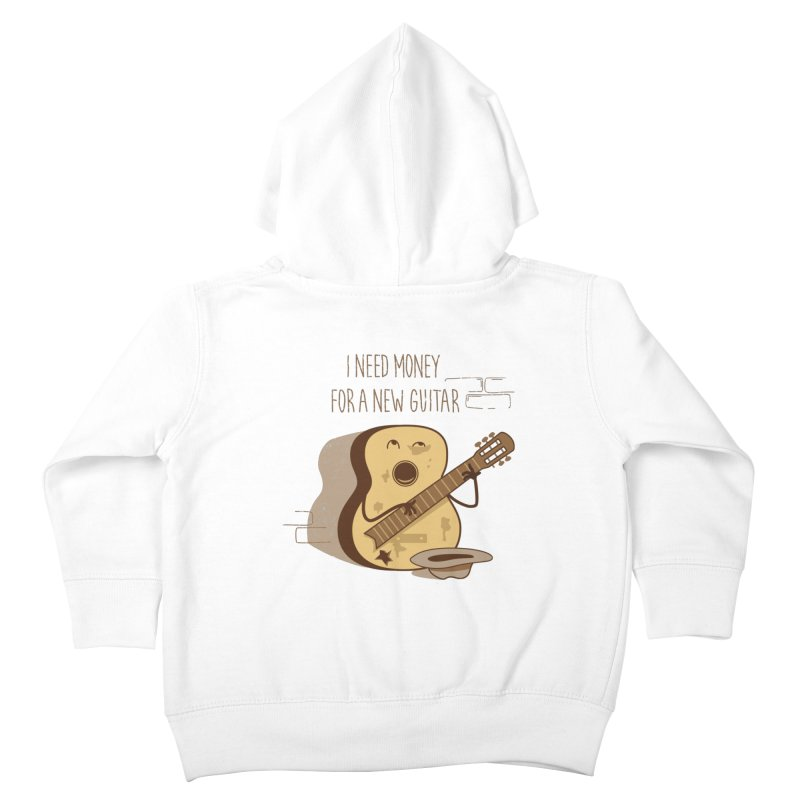 new guitar Kids Toddler Zip-Up Hoody by gotoup's Artist Shop