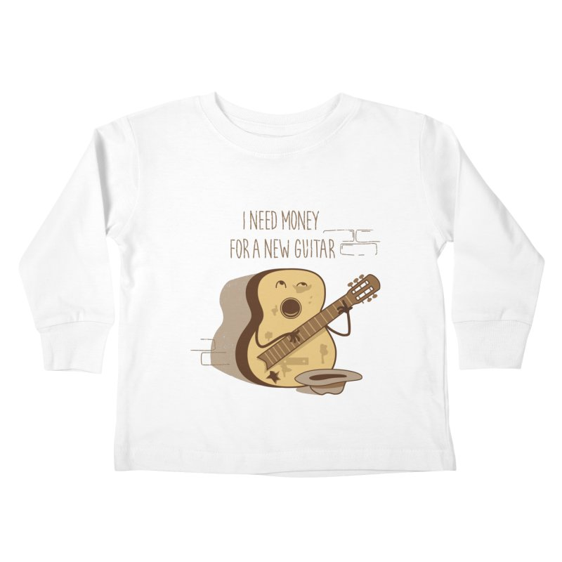 new guitar Kids Toddler Longsleeve T-Shirt by gotoup's Artist Shop