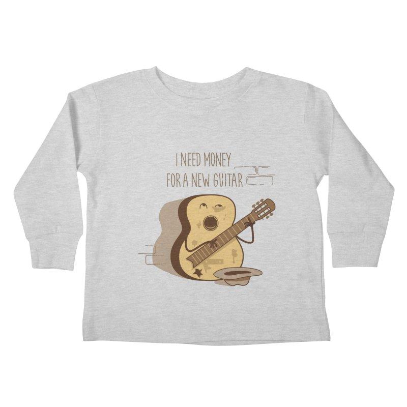 new guitar Kids Toddler Longsleeve T-Shirt by gotoup's Artist Shop