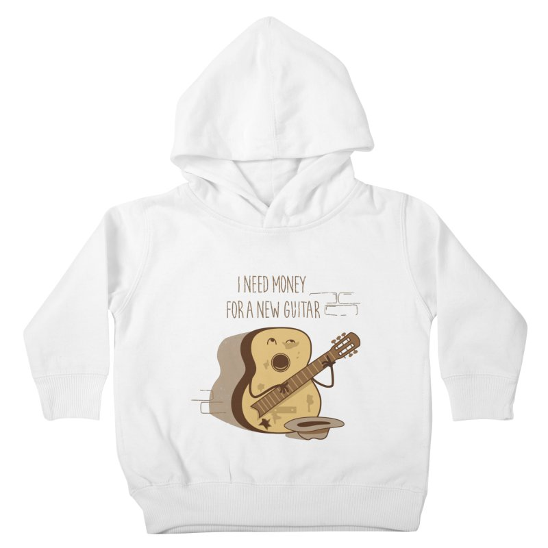 new guitar Kids Toddler Pullover Hoody by gotoup's Artist Shop