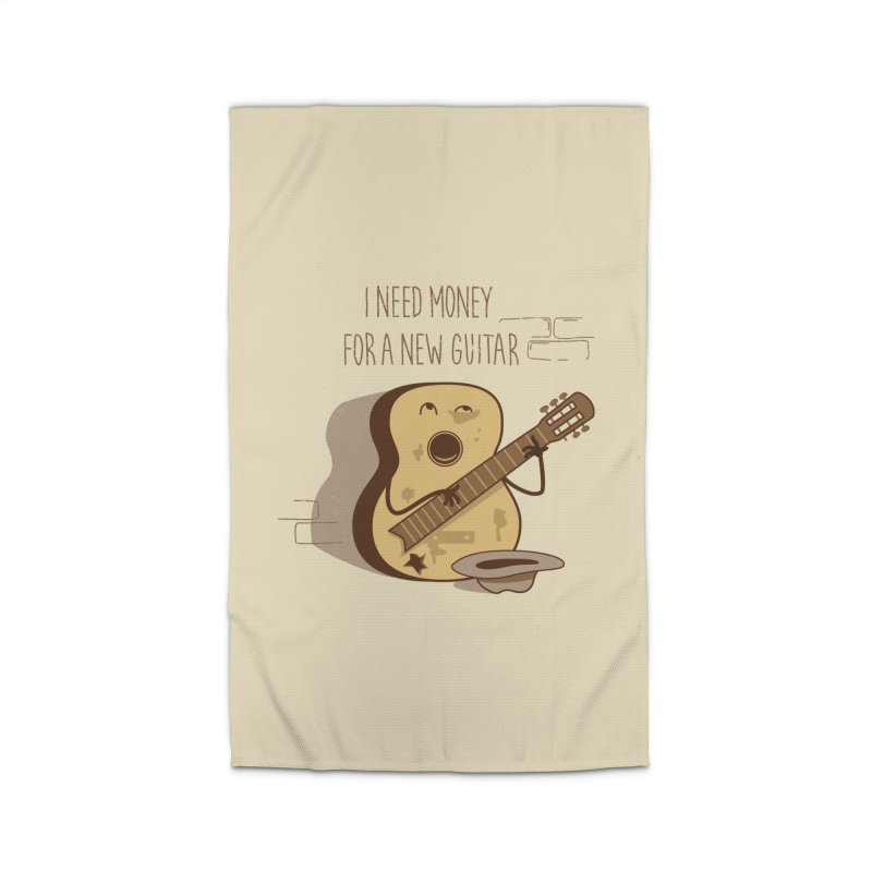 new guitar Home Rug by gotoup's Artist Shop