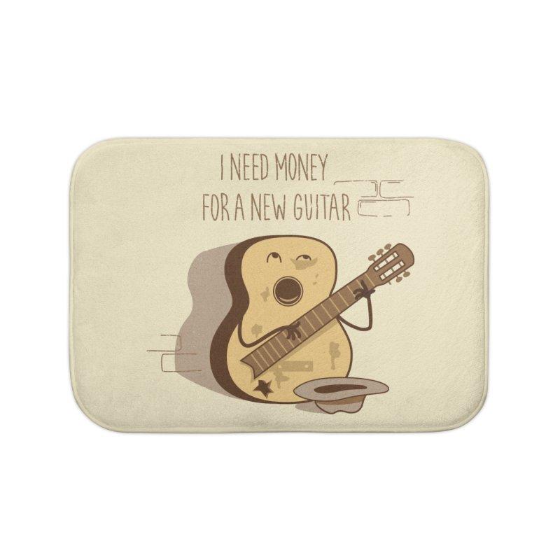 new guitar Home Bath Mat by gotoup's Artist Shop