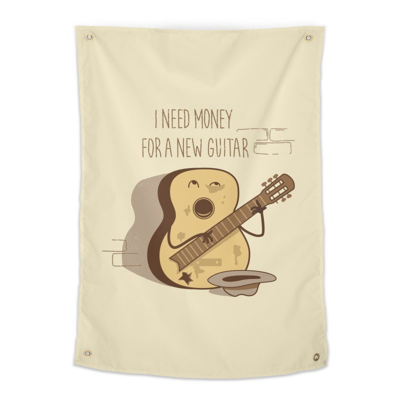 new guitar Home Tapestry by gotoup's Artist Shop