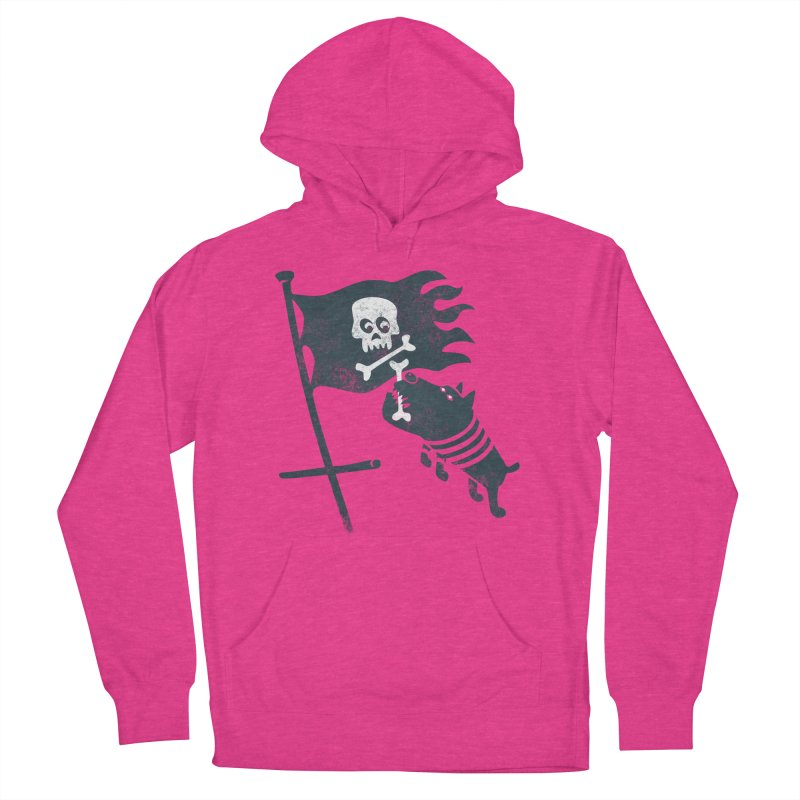 Jolly Roger Men's French Terry Pullover Hoody by gotoup's Artist Shop