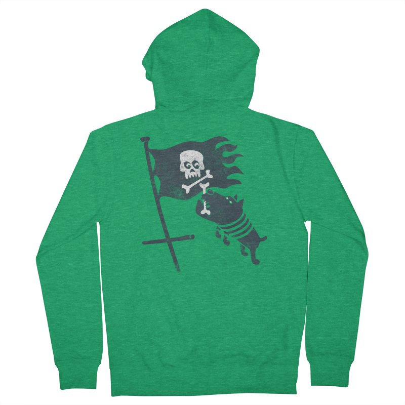 Jolly Roger Women's Zip-Up Hoody by gotoup's Artist Shop