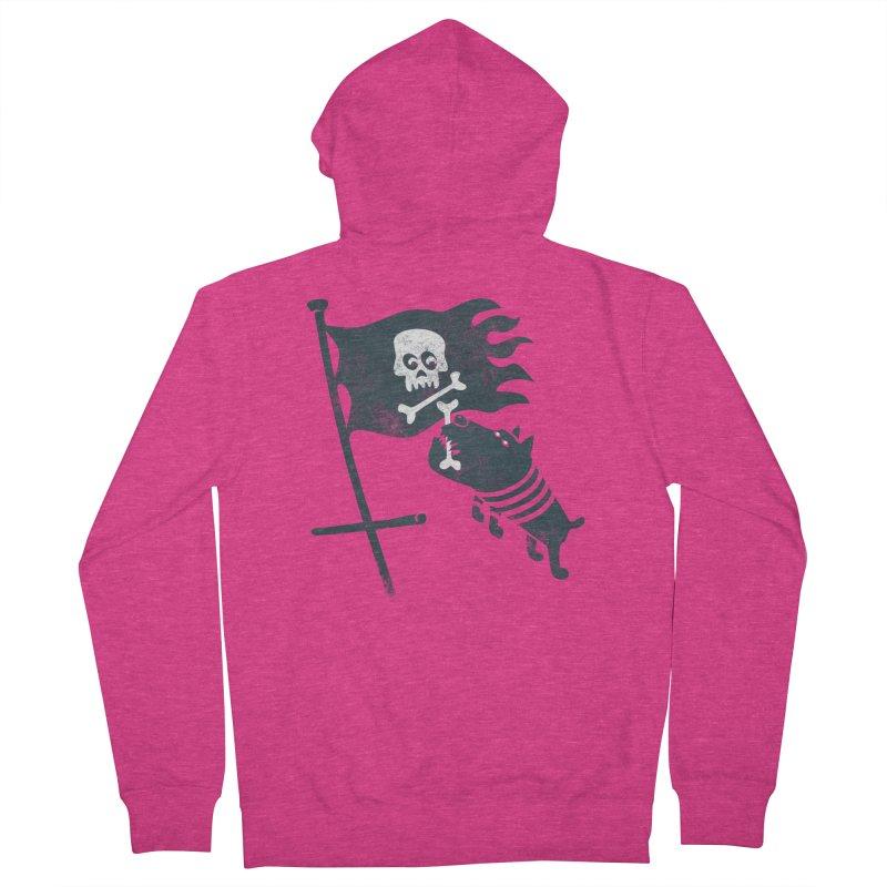 Jolly Roger Women's Zip-Up Hoody by gotoup's Artist Shop