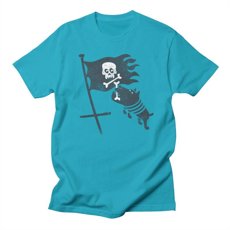 Jolly Roger Men's T-shirt by gotoup's Artist Shop