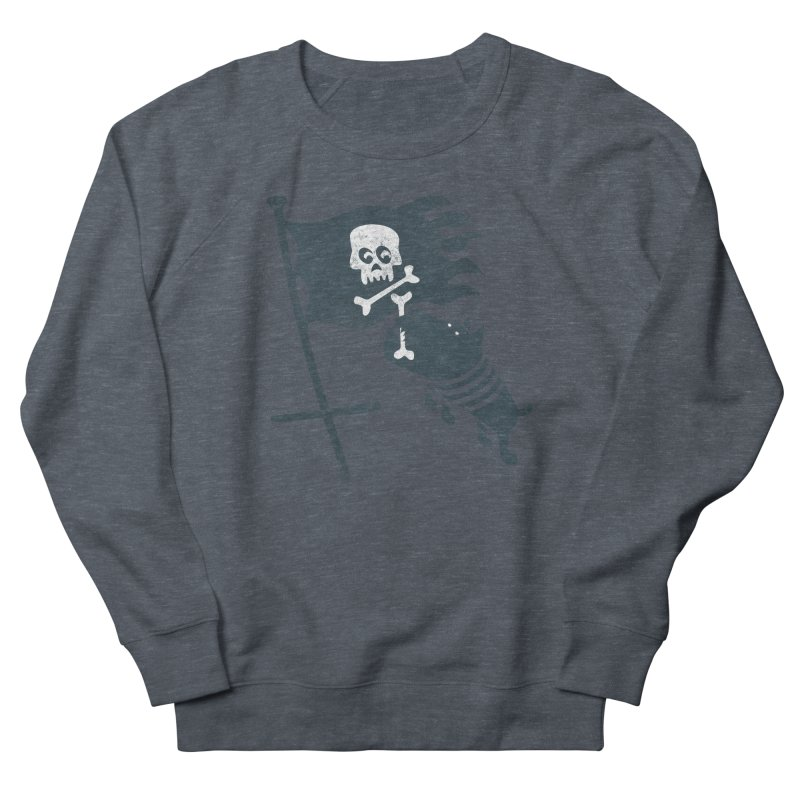 Jolly Roger Men's French Terry Sweatshirt by gotoup's Artist Shop