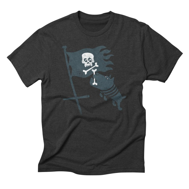 Jolly Roger Men's Triblend T-Shirt by gotoup's Artist Shop