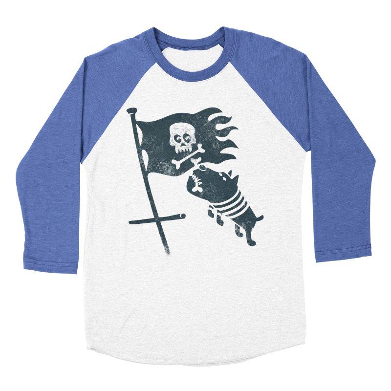 Jolly Roger Men's Baseball Triblend T-Shirt by gotoup's Artist Shop