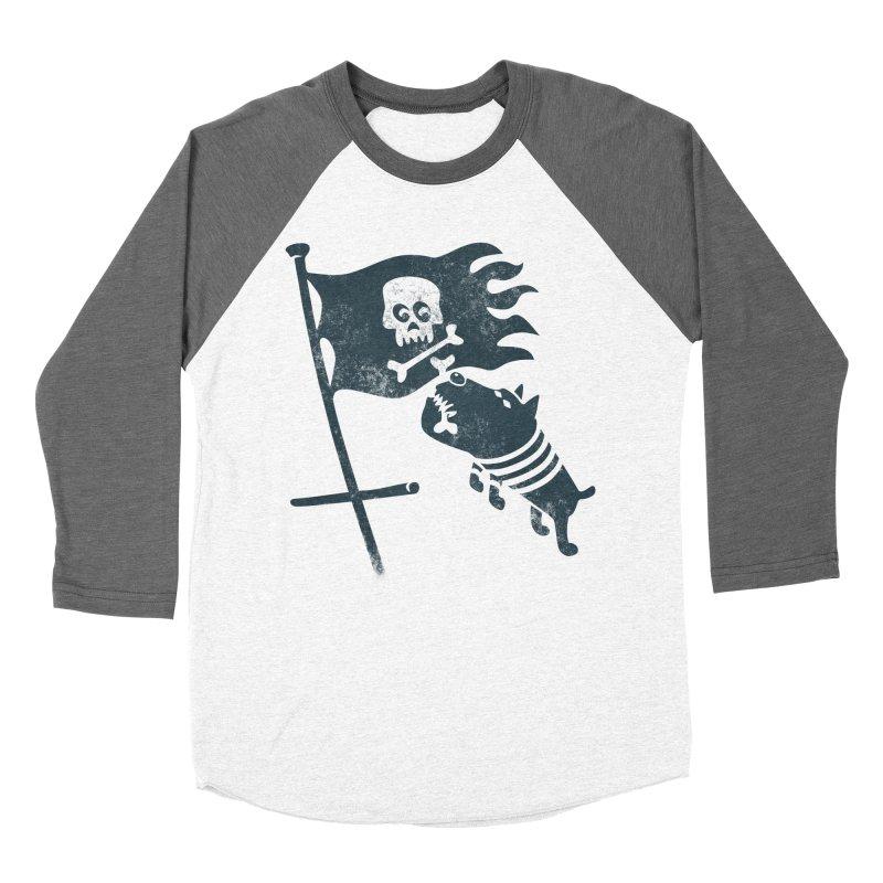 Jolly Roger Men's Baseball Triblend Longsleeve T-Shirt by gotoup's Artist Shop