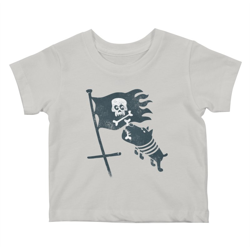 Jolly Roger Kids Baby T-Shirt by gotoup's Artist Shop