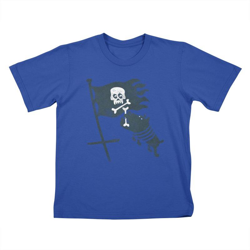 Jolly Roger Kids T-Shirt by gotoup's Artist Shop