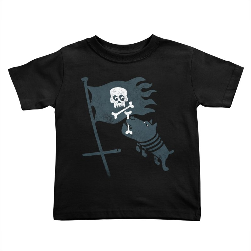 Jolly Roger Kids Toddler T-Shirt by gotoup's Artist Shop