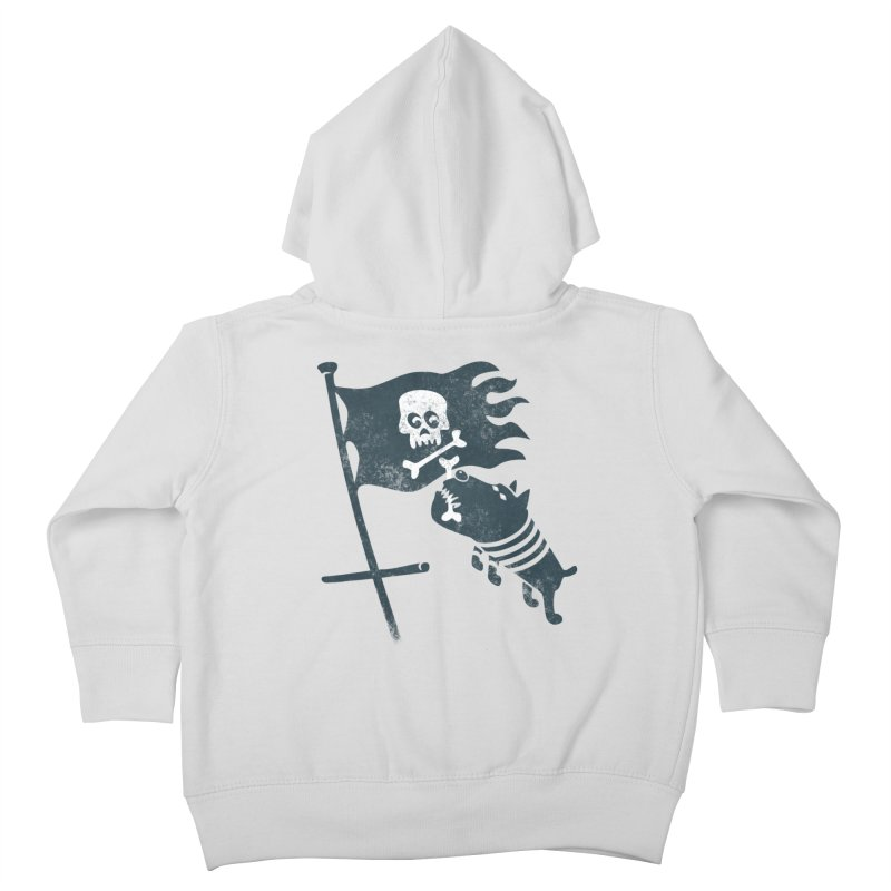 Jolly Roger Kids Toddler Zip-Up Hoody by gotoup's Artist Shop