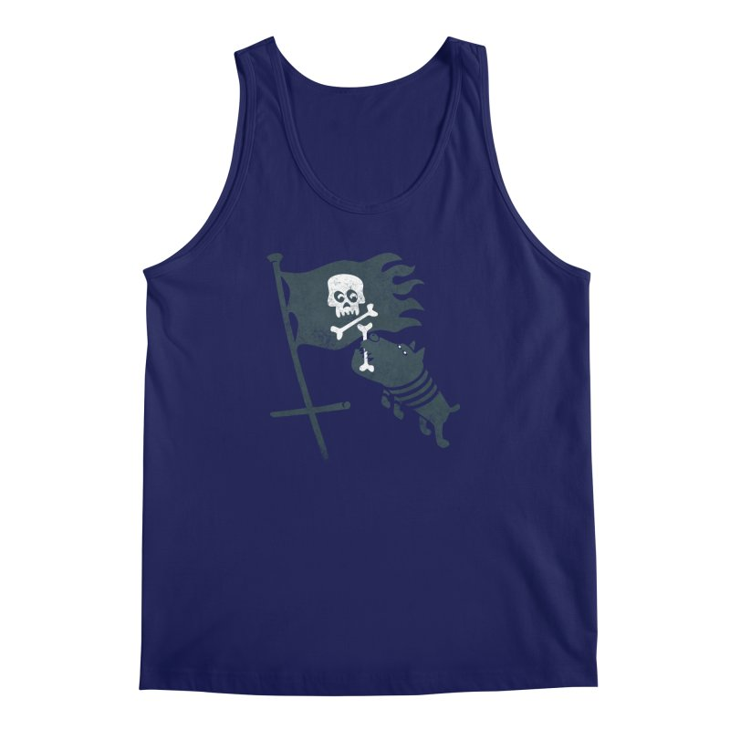 Jolly Roger Men's Regular Tank by gotoup's Artist Shop