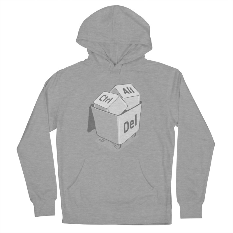 keyboard Men's French Terry Pullover Hoody by gotoup's Artist Shop