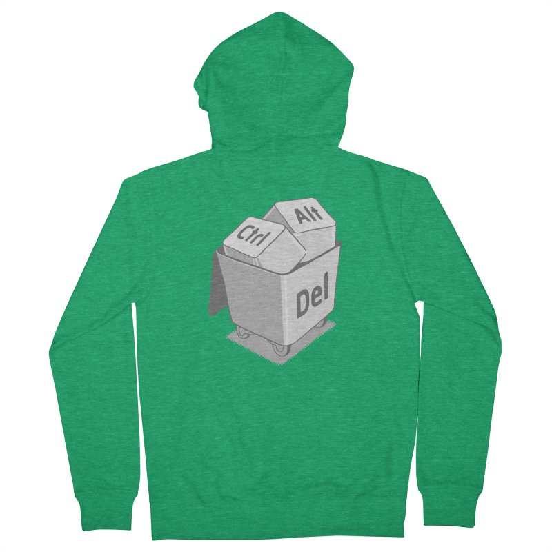 keyboard Men's French Terry Zip-Up Hoody by gotoup's Artist Shop