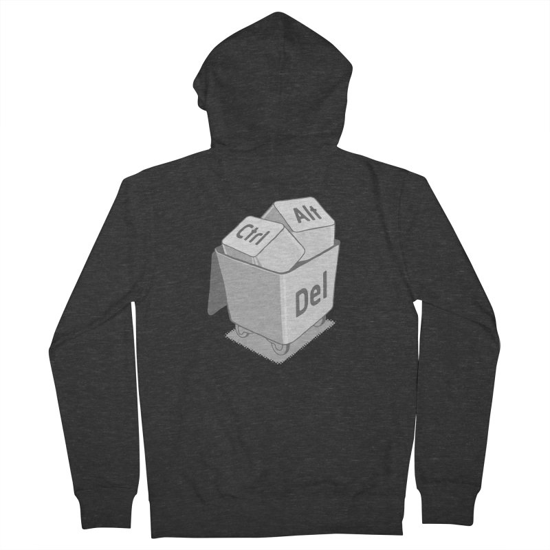 keyboard Men's Zip-Up Hoody by gotoup's Artist Shop
