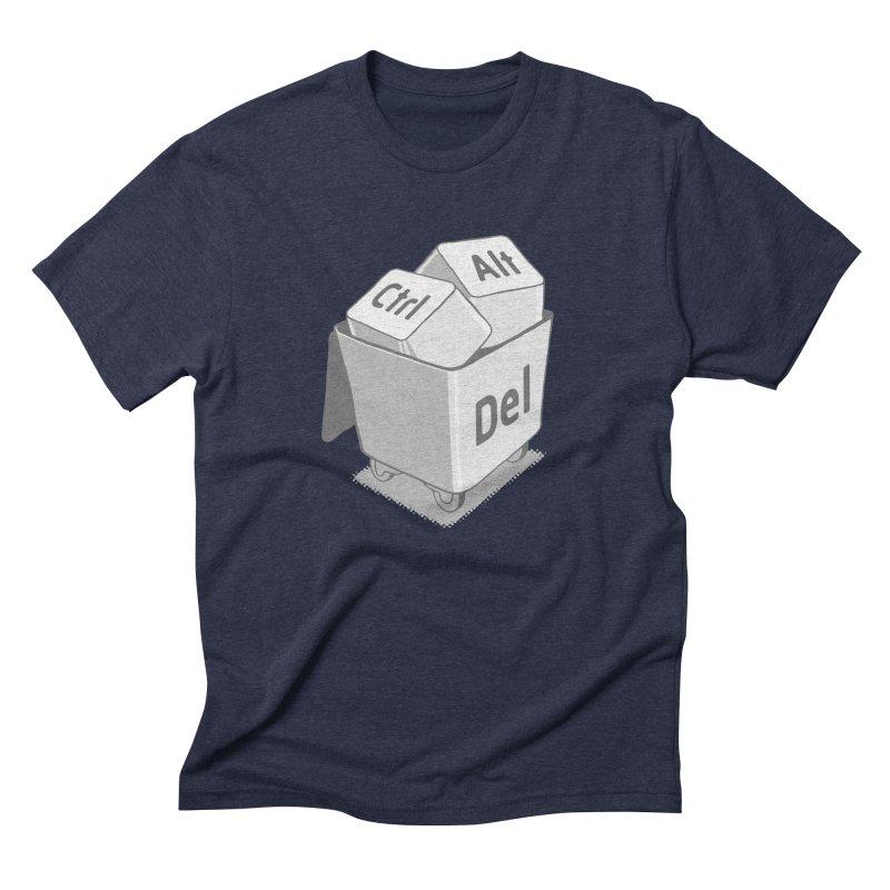 keyboard Men's Triblend T-shirt by gotoup's Artist Shop