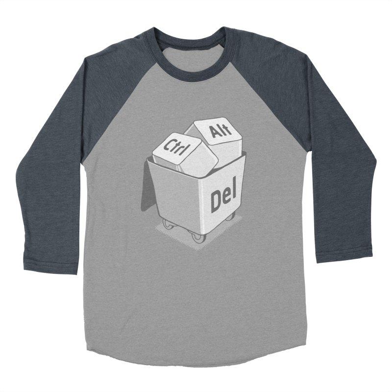 keyboard Women's Baseball Triblend T-Shirt by gotoup's Artist Shop