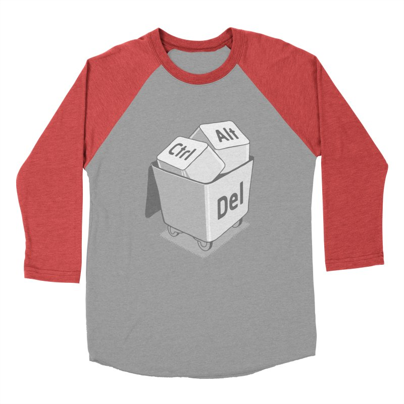 keyboard Men's Baseball Triblend T-Shirt by gotoup's Artist Shop