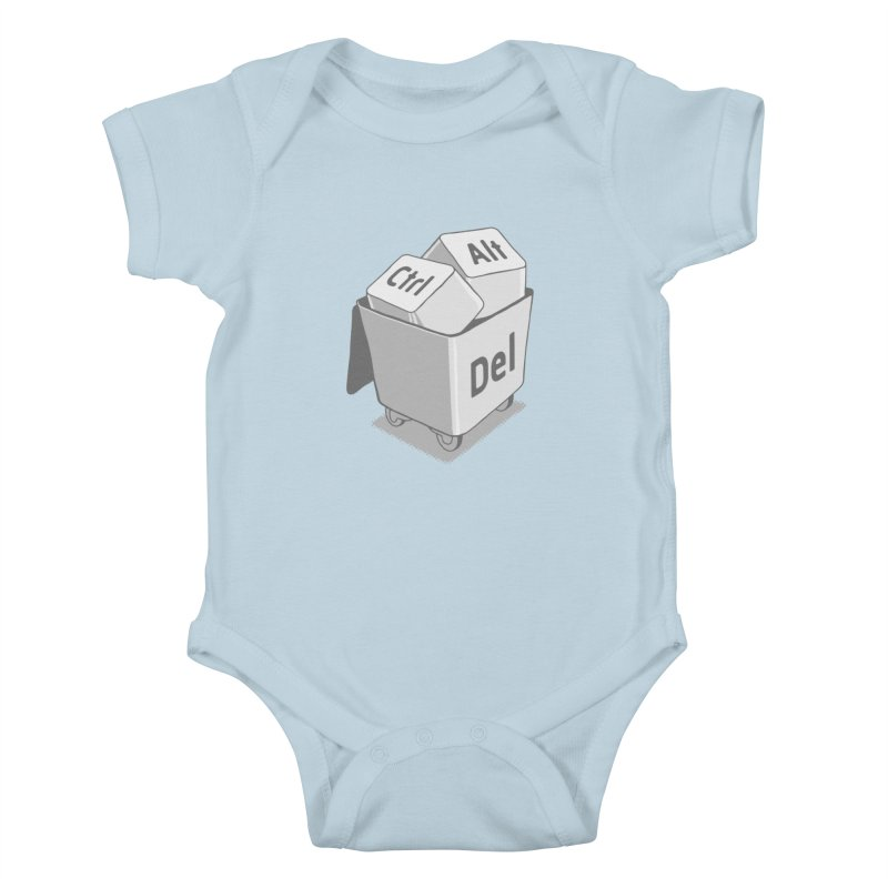 keyboard Kids Baby Bodysuit by gotoup's Artist Shop