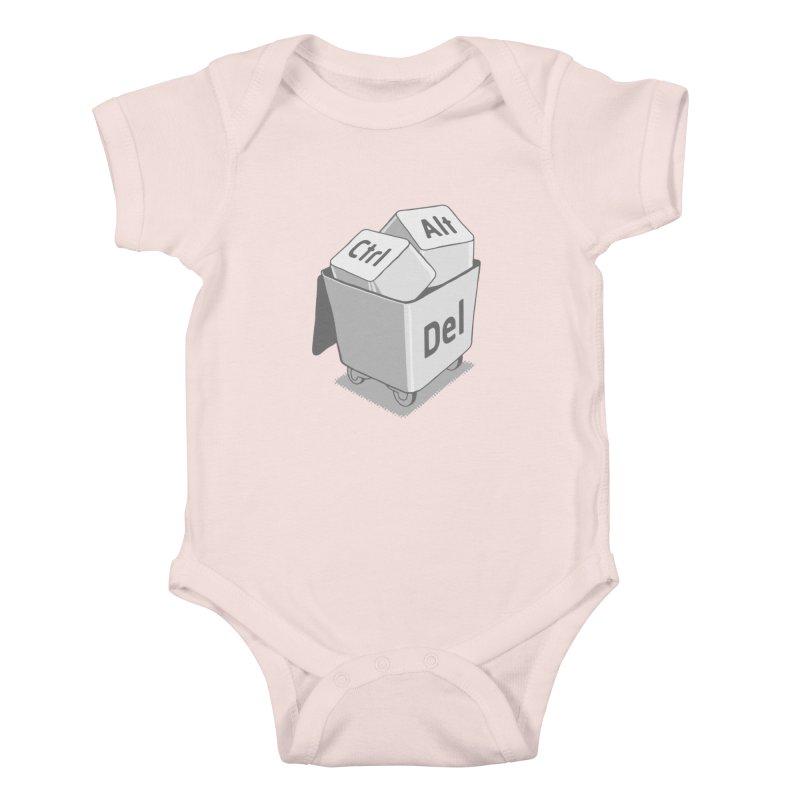 keyboard Kids Baby Bodysuit by gotoup's Artist Shop