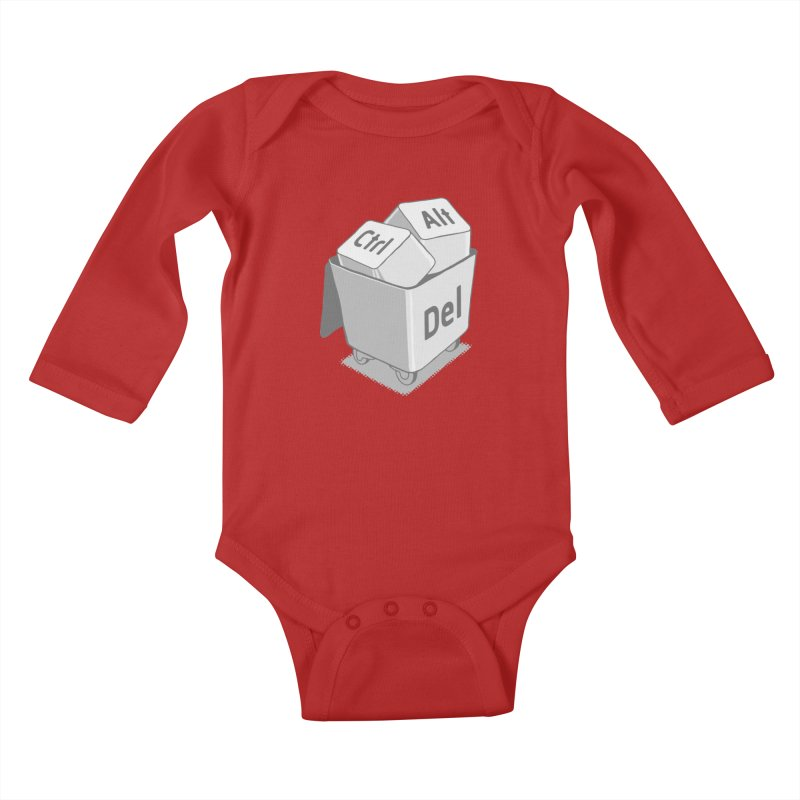 keyboard Kids Baby Longsleeve Bodysuit by gotoup's Artist Shop