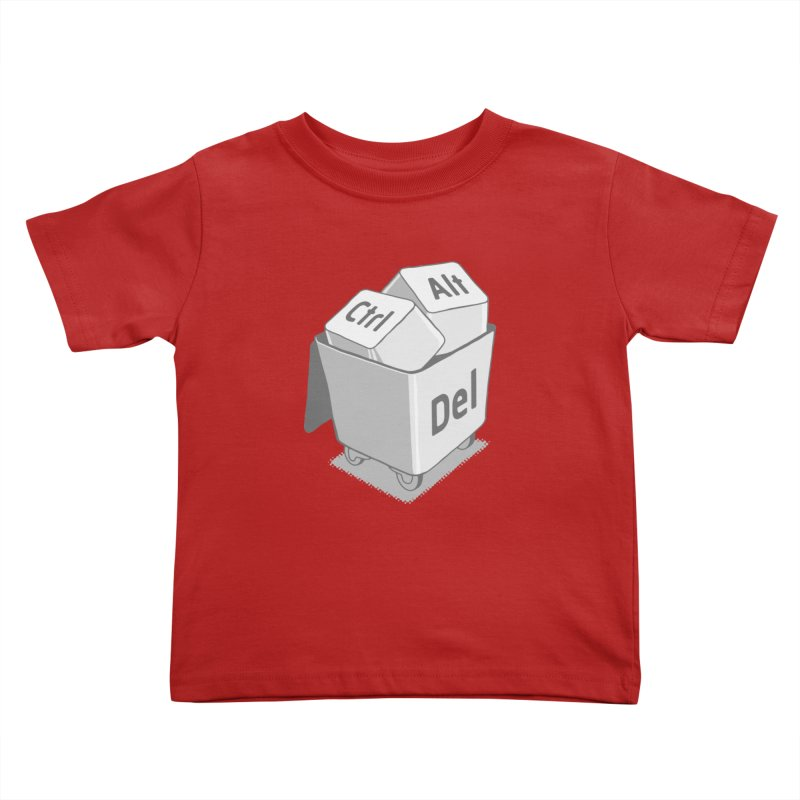 keyboard Kids Toddler T-Shirt by gotoup's Artist Shop