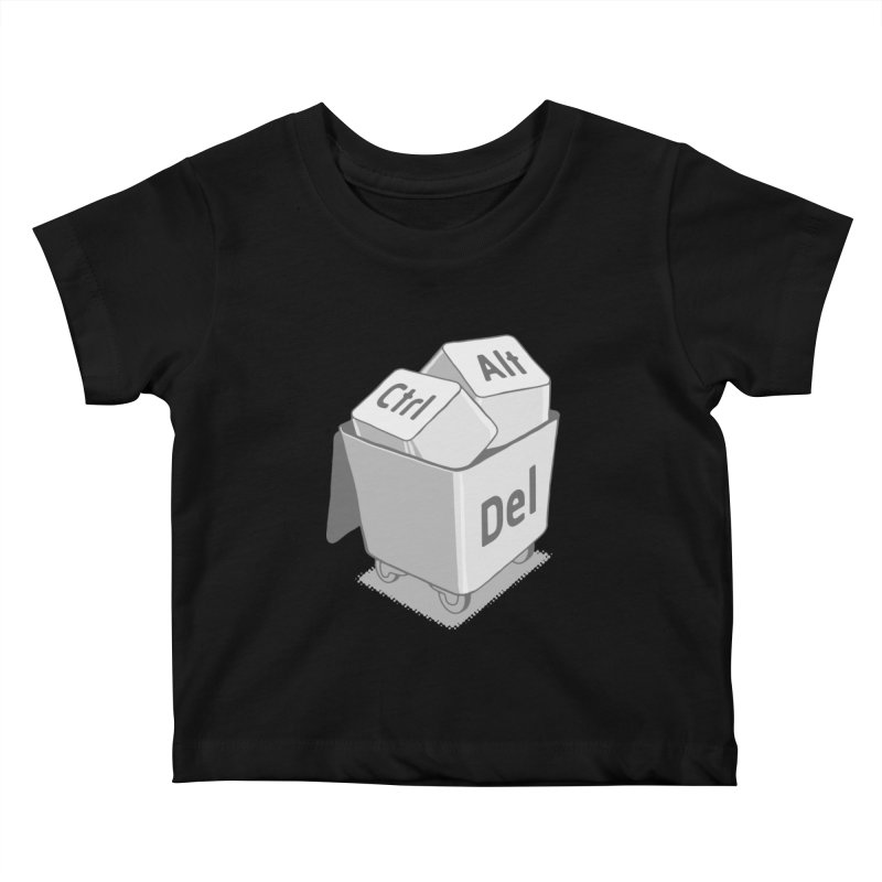 keyboard Kids Baby T-Shirt by gotoup's Artist Shop