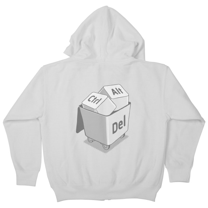 keyboard Kids Zip-Up Hoody by gotoup's Artist Shop