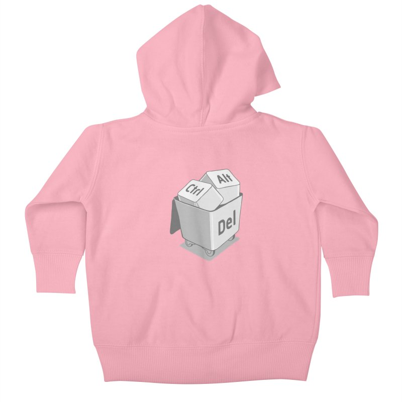 keyboard Kids Baby Zip-Up Hoody by gotoup's Artist Shop