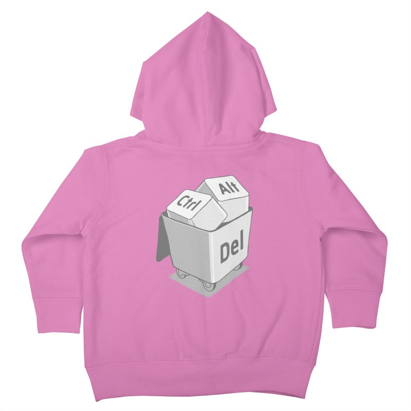 keyboard Kids Toddler Zip-Up Hoody by gotoup's Artist Shop
